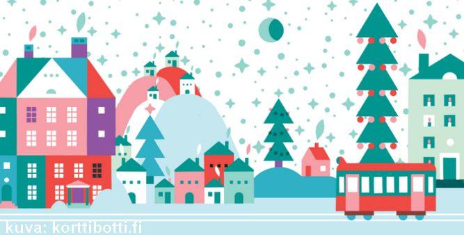 korttibotti- lähetä joulukortit netistä